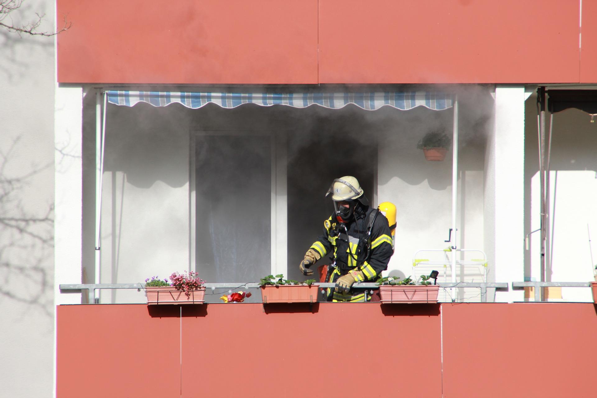 Incendio en instalaciones eléctricas