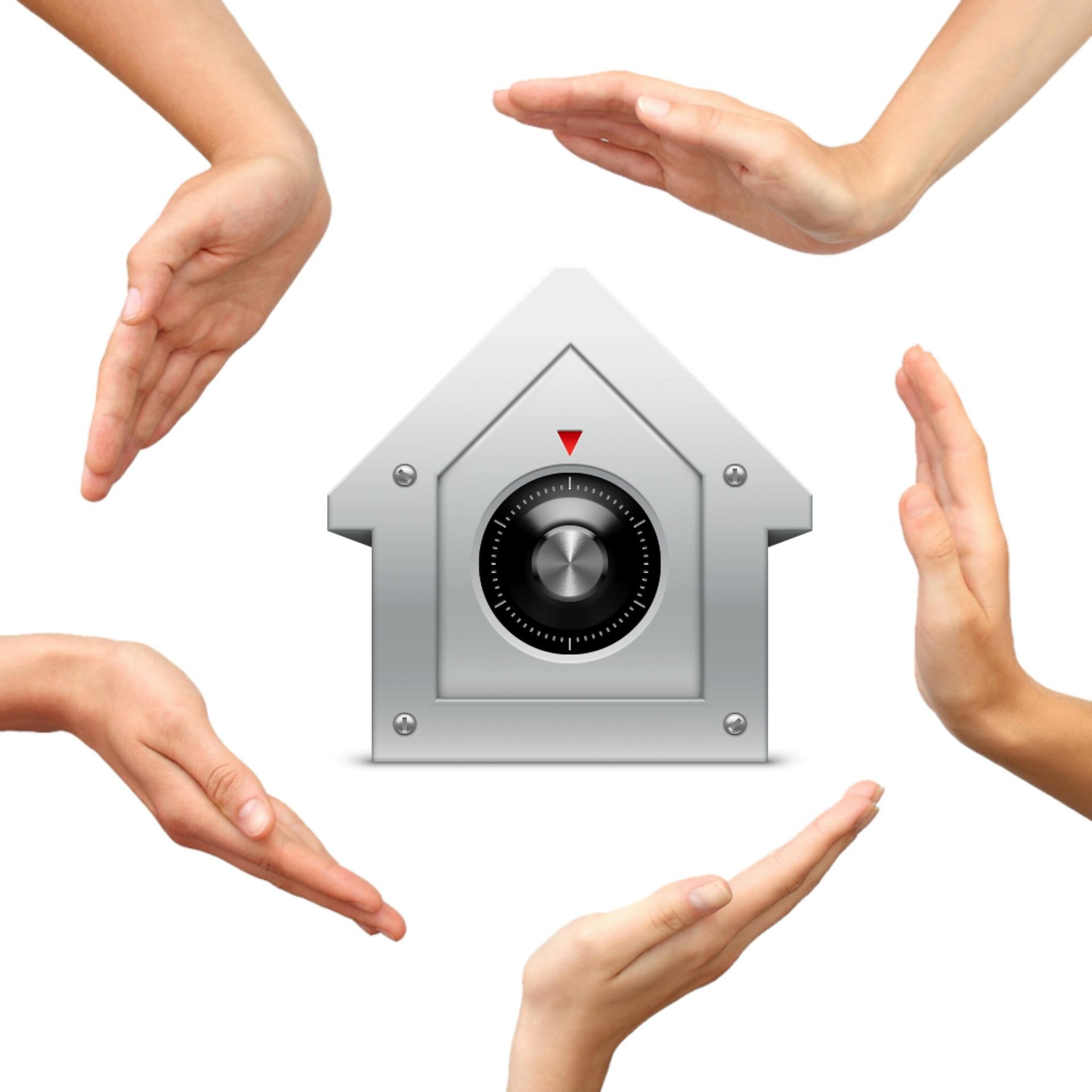 hogar protegido con tecnología
