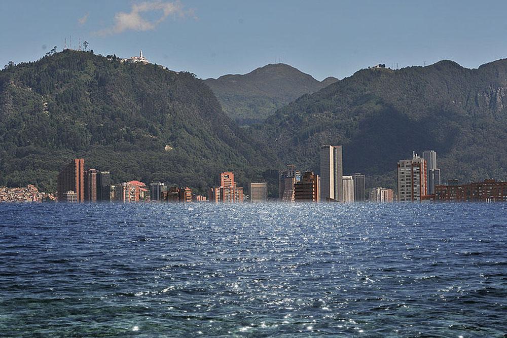 Bogotá bajo agua
